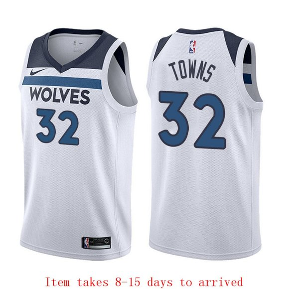 karl anthony towns jersey